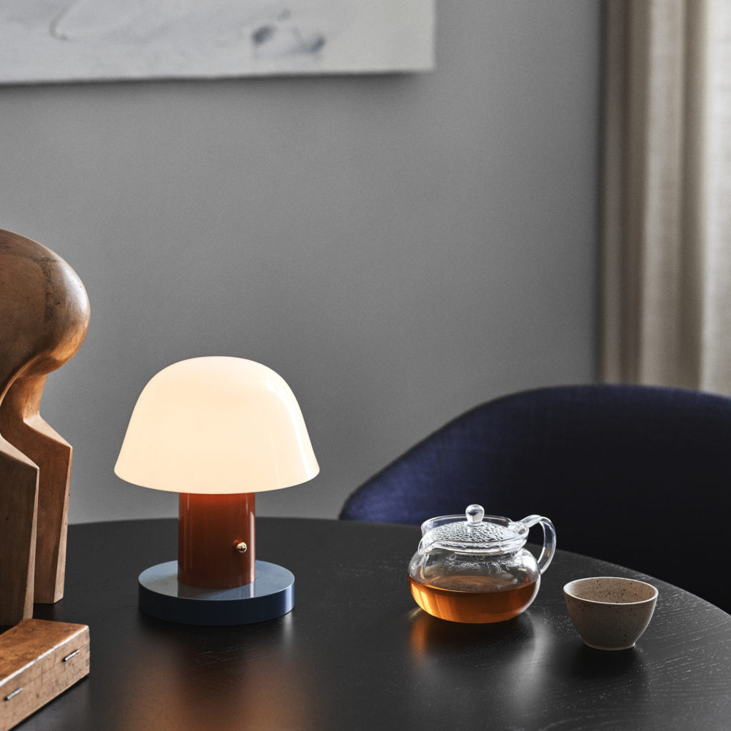 Setago Table Lamp | Image courtesy of &Tradition