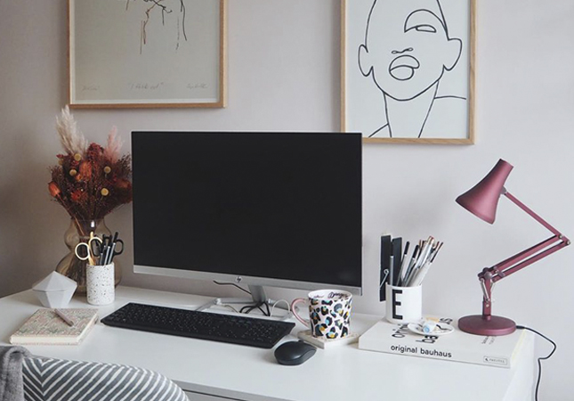 Apogee Interiors' work from home space