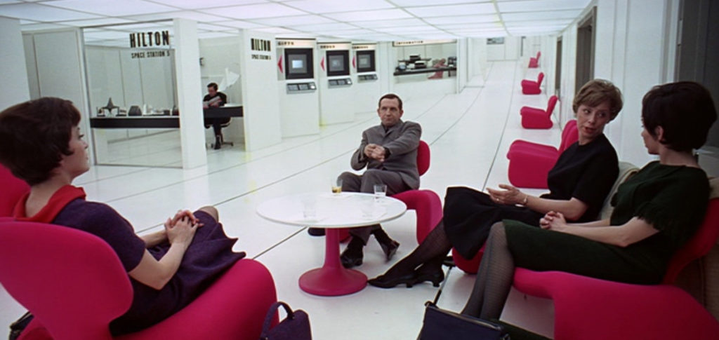 Oliver Morgue Djinn Chair in 2001: A Space Odyssey