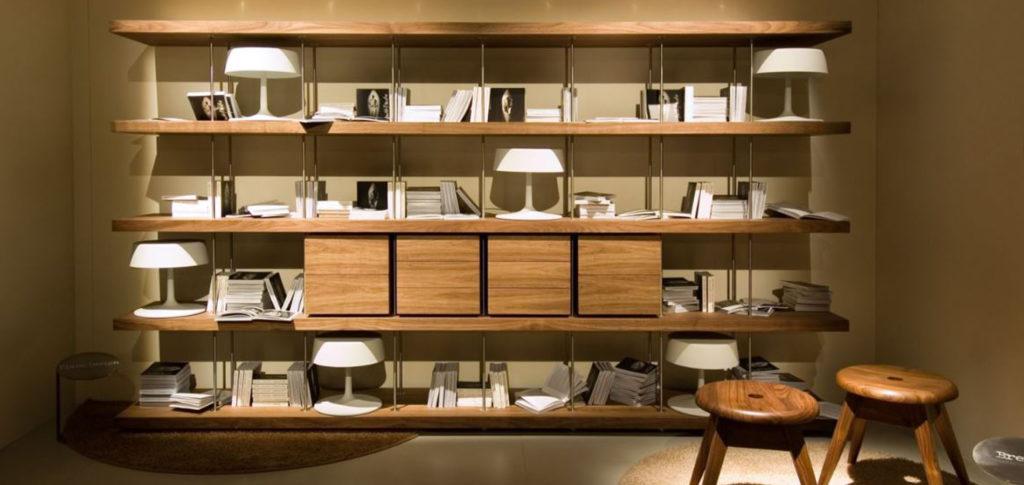 Piano Bookshelf | Image courtesy of Riva 1920