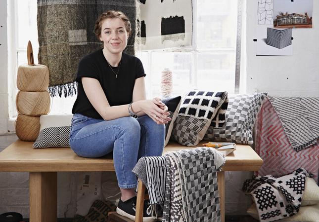 Beatrice Larkin in her studio | Image via Beatrice Larkin