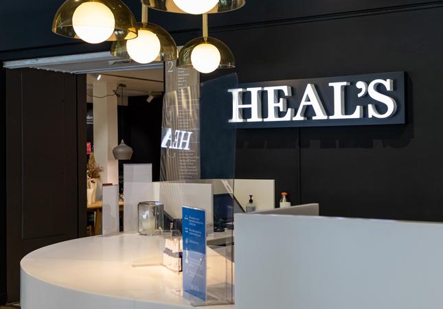 Heal's Tottenham Court Road Concierge Desk