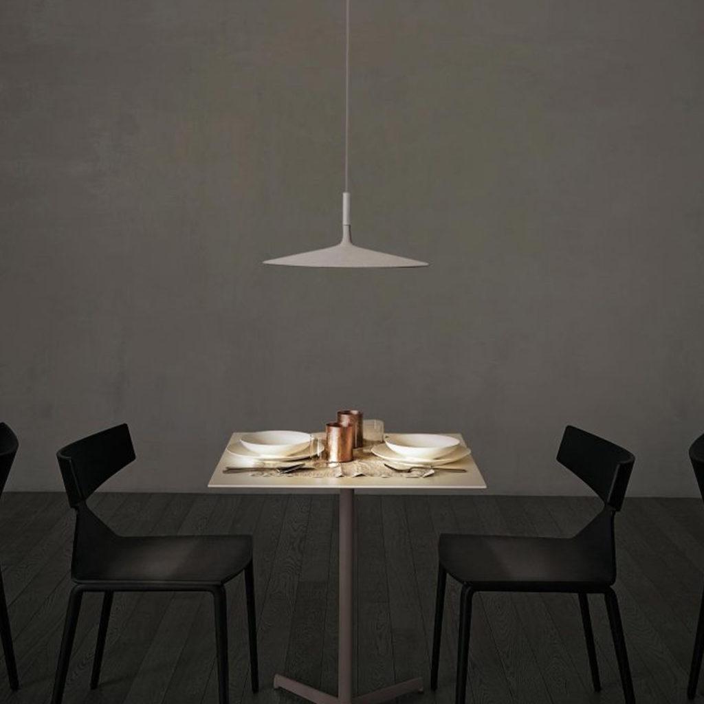 Aplomb LED Unusual Ceiling Light | Image courtesy of Foscarini