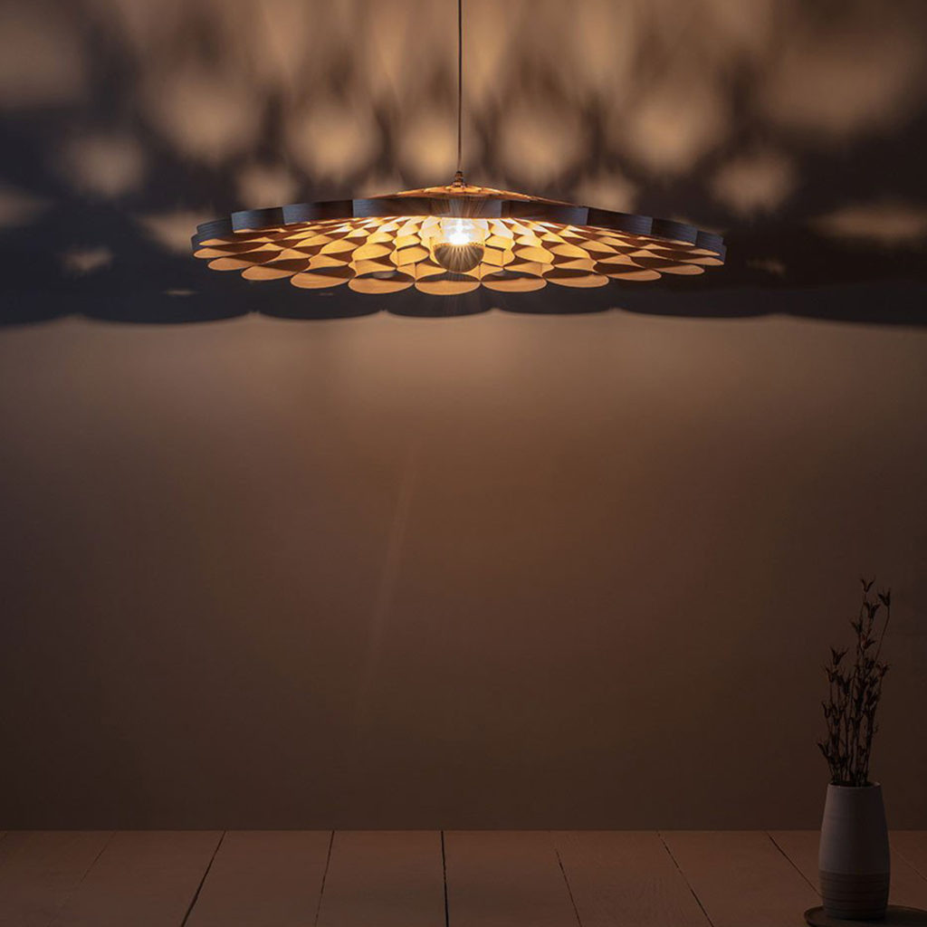 Arame Ceiling Light | Image courtesy of Tom Raffield