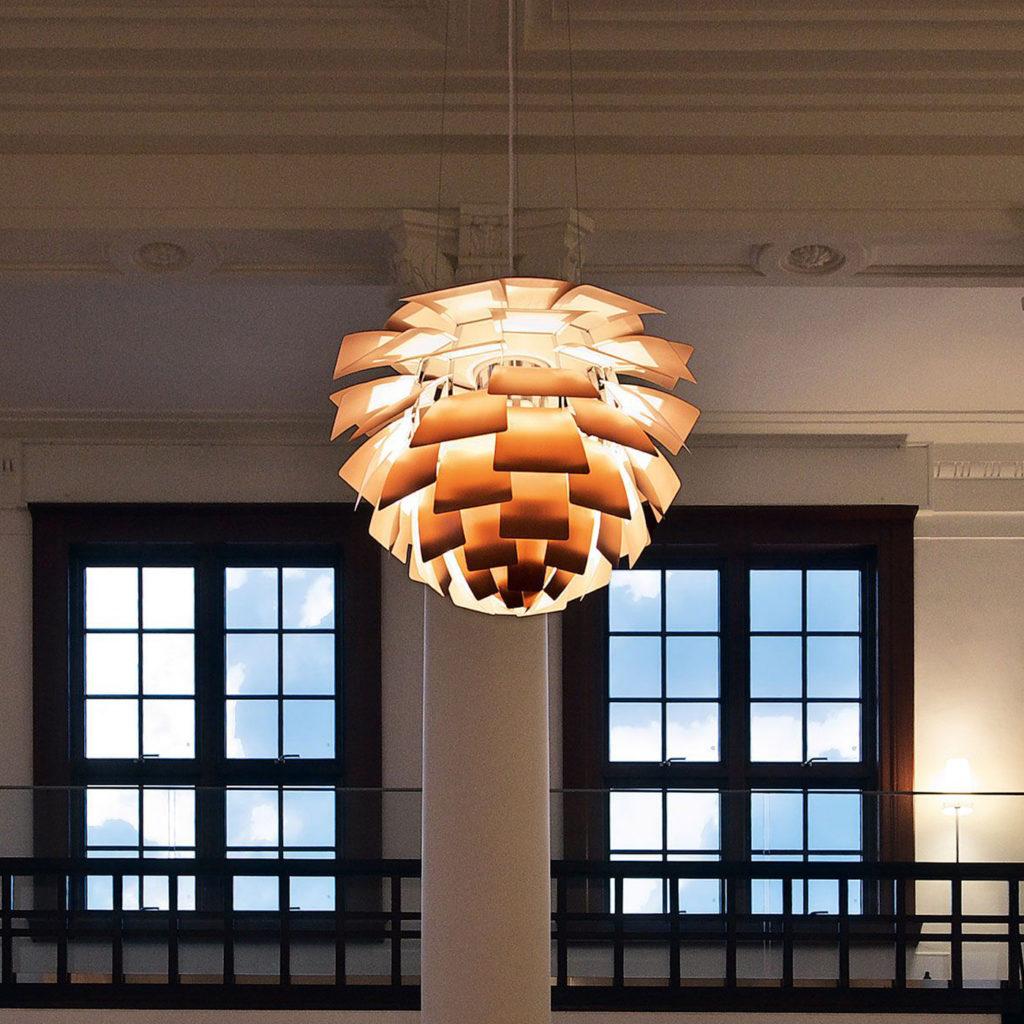 Artichoke Unusual Ceiling Light | Image courtesy of Louis Poulsen