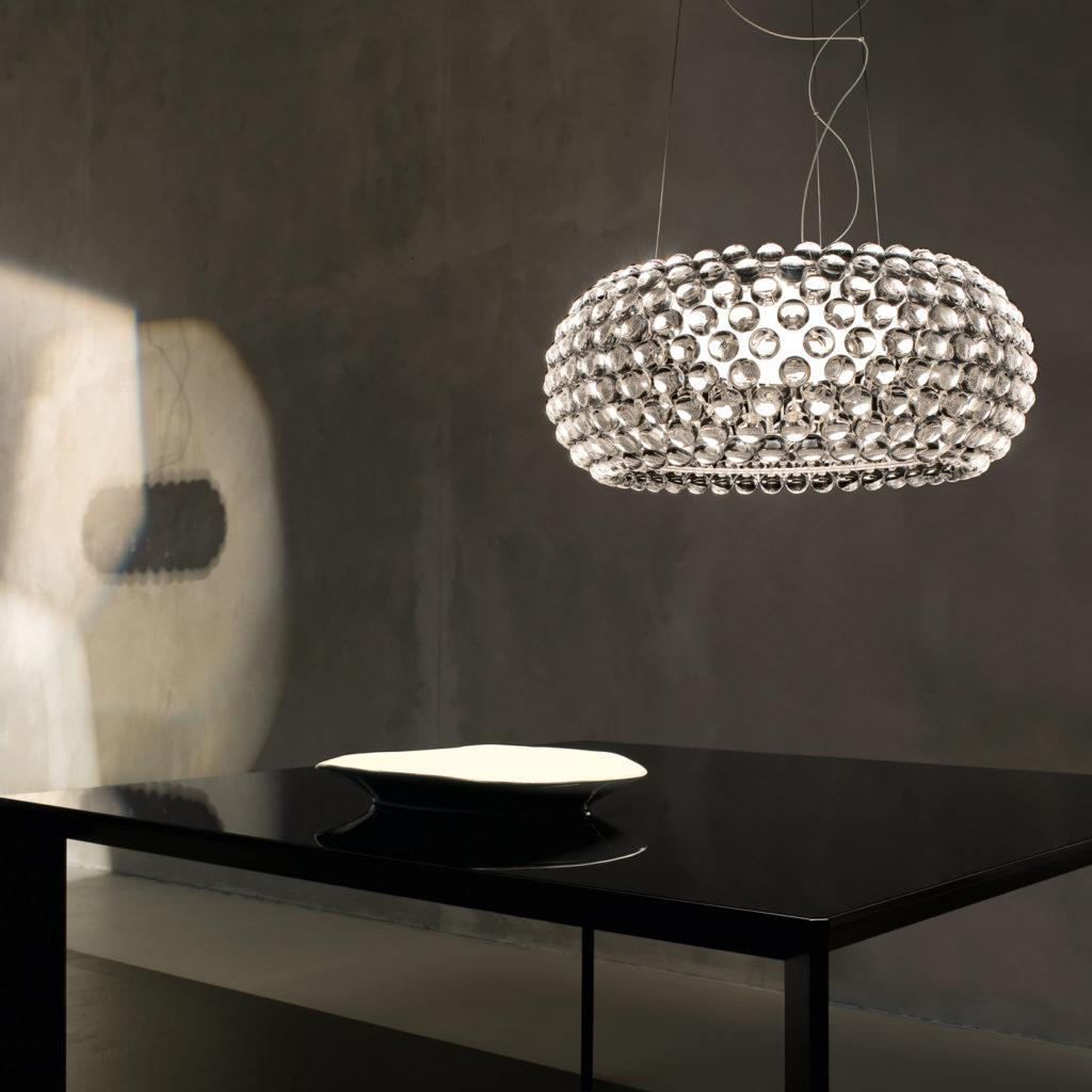 Caboche Unusual Ceiling Light | Image courtesy of Foscarini