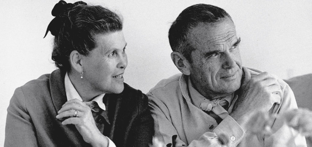 Charles & Ray Eames portrait | Interior design quotes