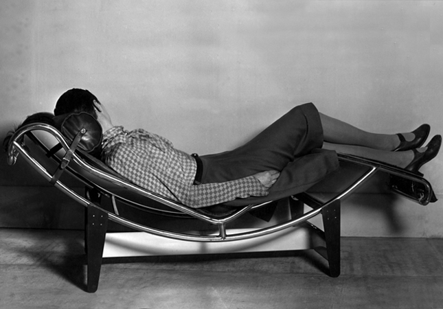 Charlotte Perriand on the LC4 Chaise Longue