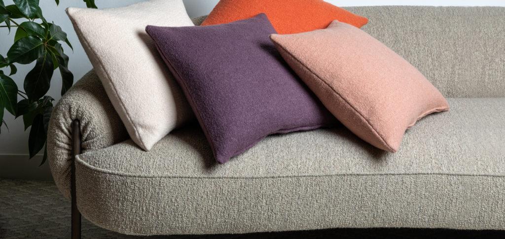 Colour cushion display