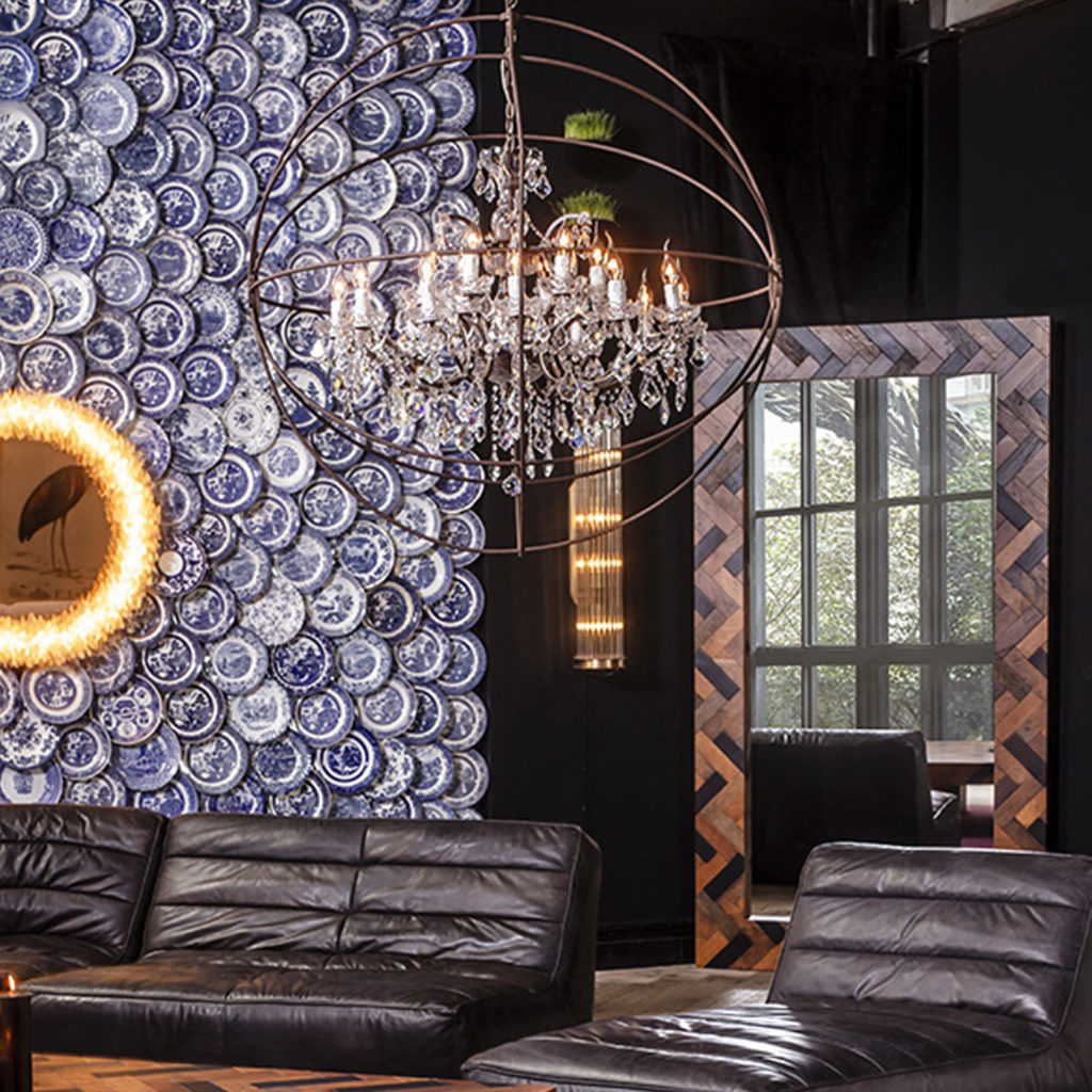 Gyro Crystal Chandelier | Image courtesy of Timothy Oulton