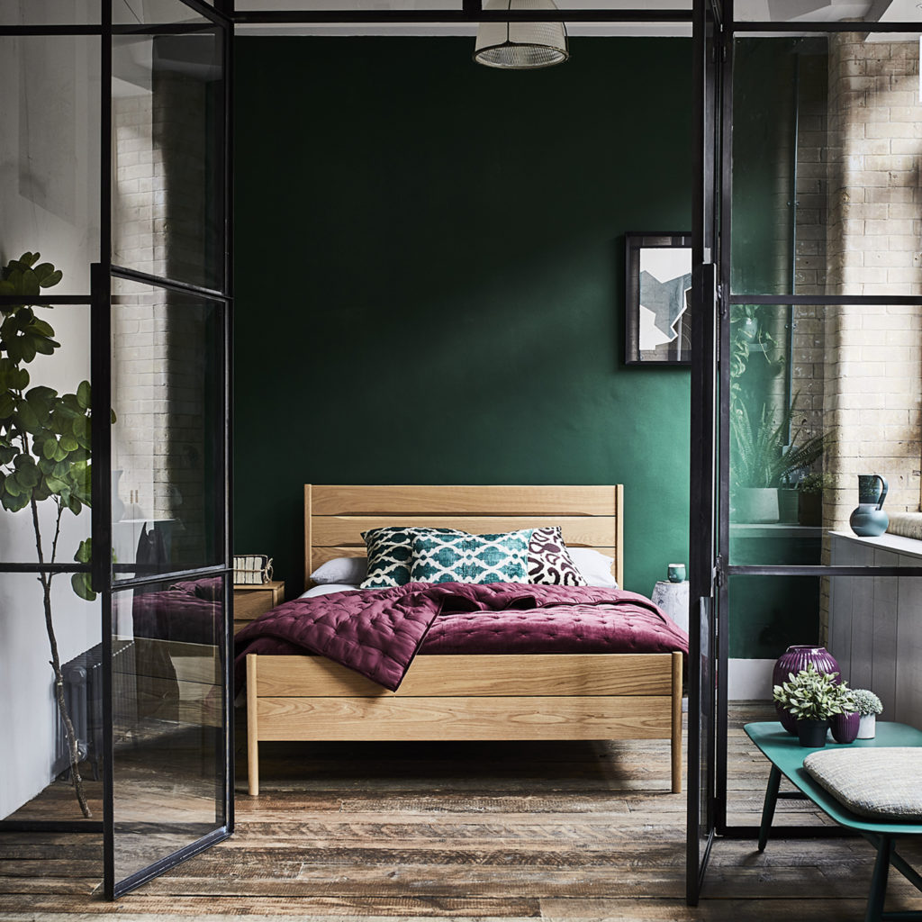Rimini Scandi bedroom inspiration | Image courtesy of ercol
