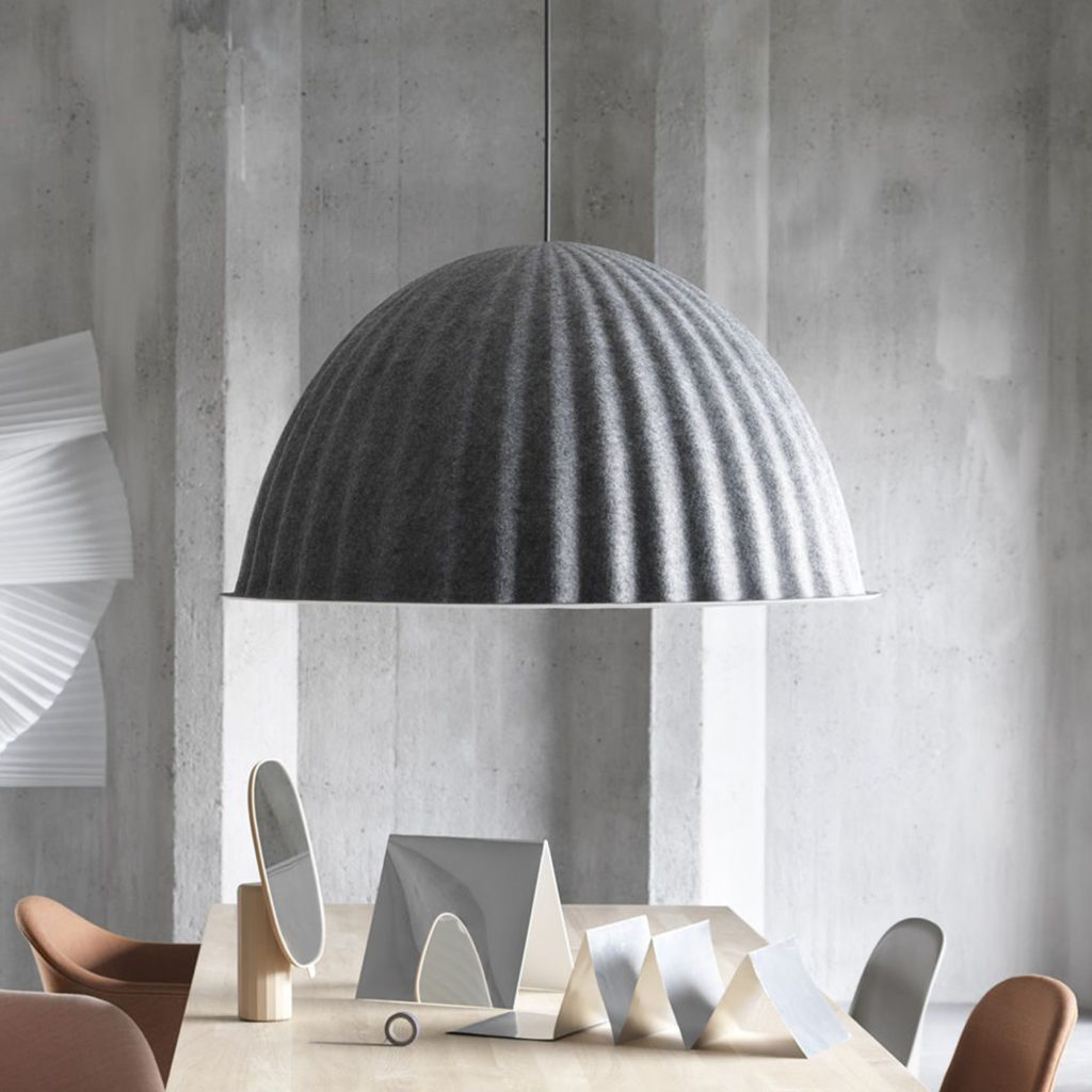 Under The Bell Unusual Ceiling Light | Image courtesy of Muuto