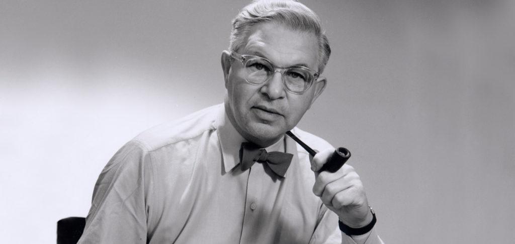 Arne Jacobsen, designer of the AJ Table Lamp