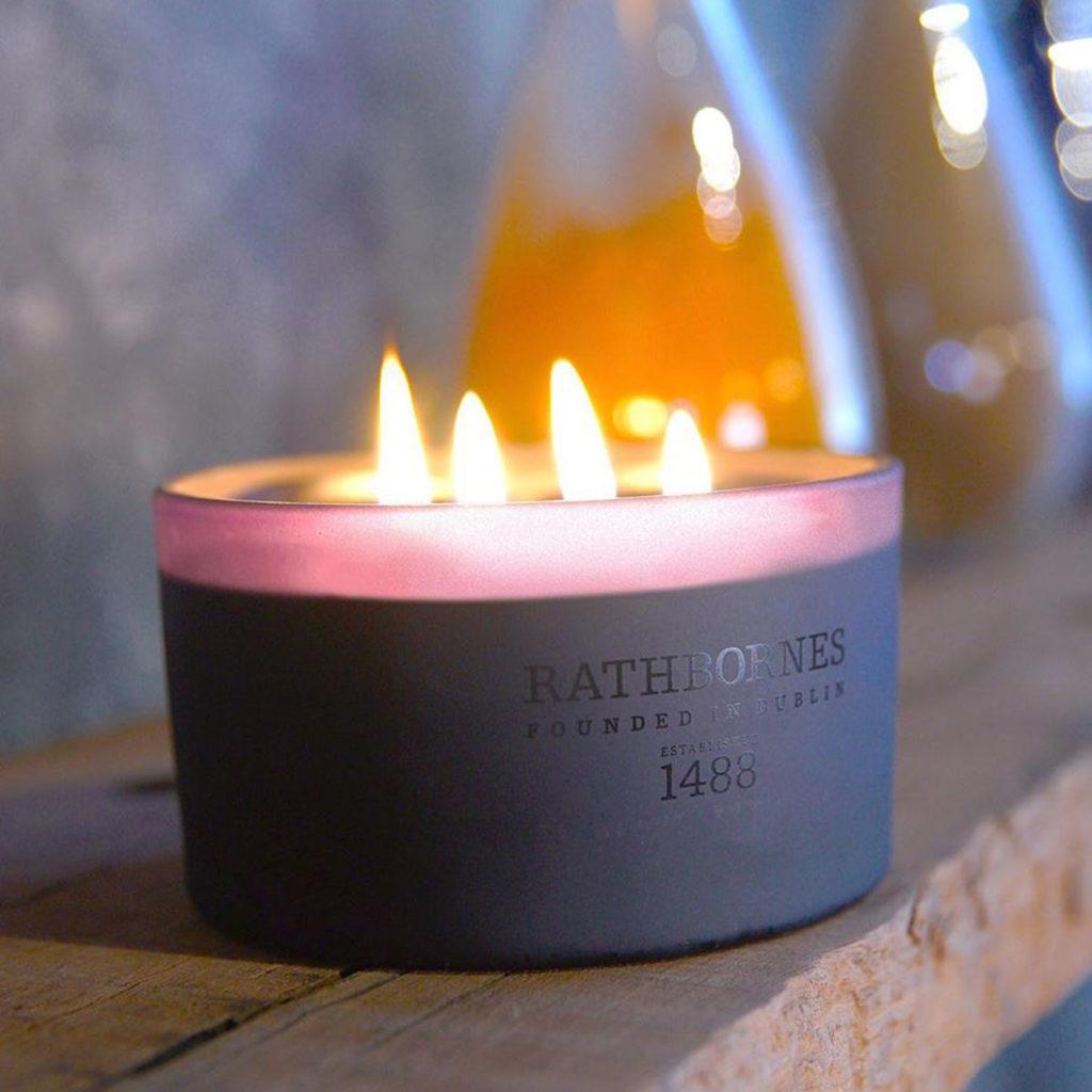 Rathbornes Dublin Dusk Candle
