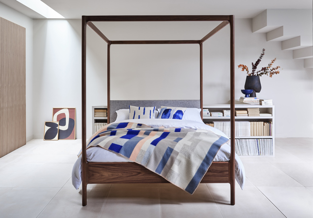 Four-Poster bed, an AW20 interior design trend
