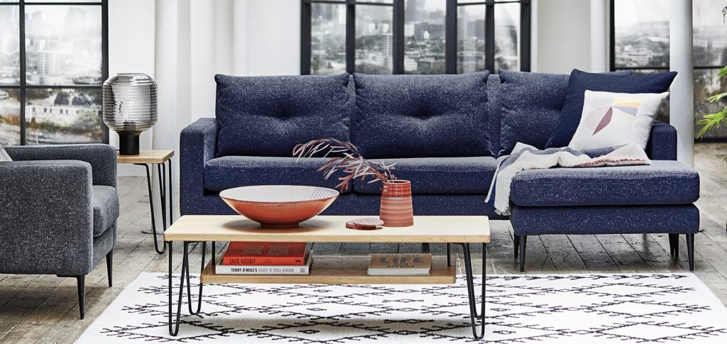 Brunel Corner Sofa Living Room Idea
