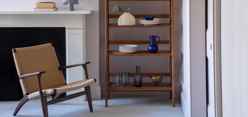 Design classics in an apartment