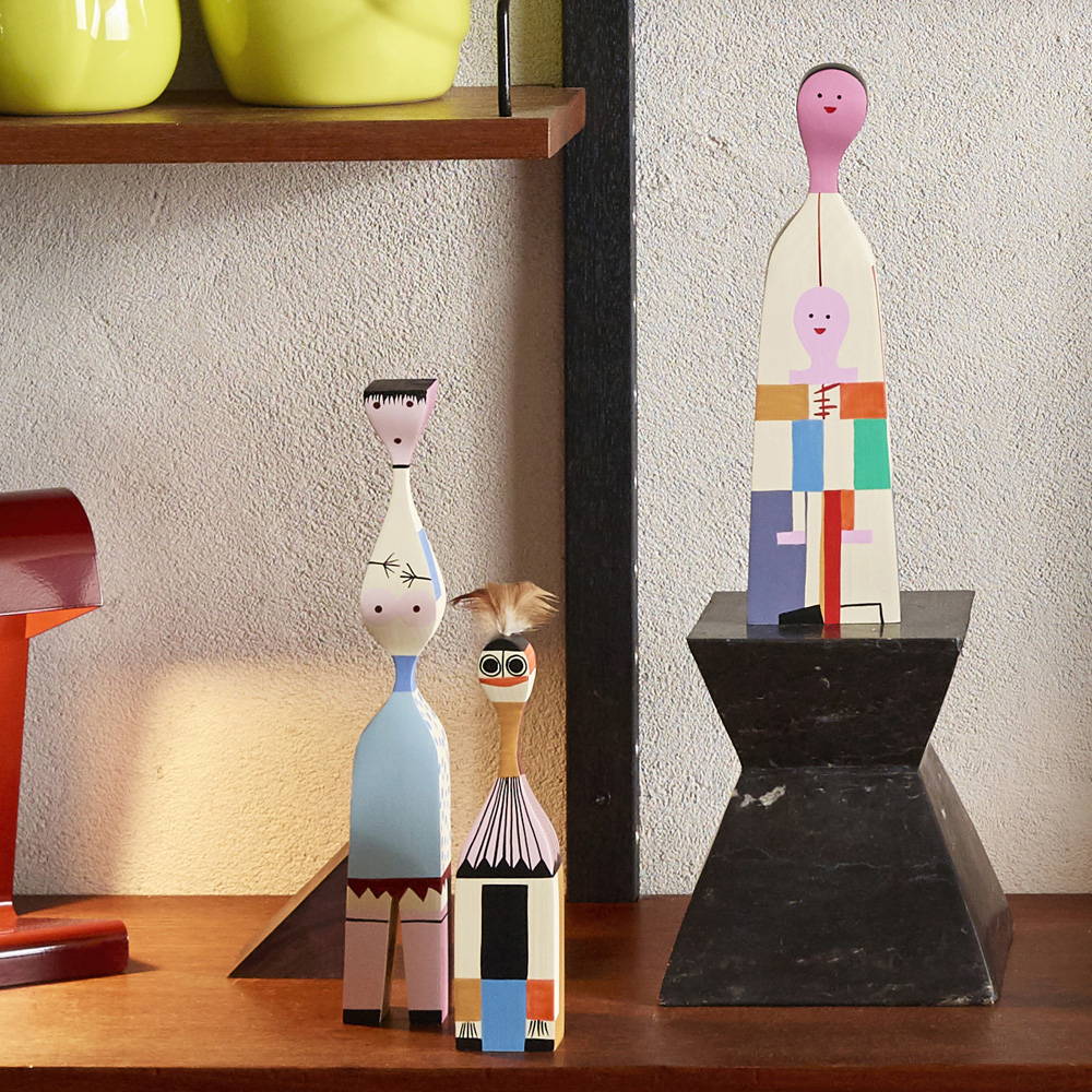 Girard Wooden Dolls housewarming gift for design lovers | Image courtesy of Vitra