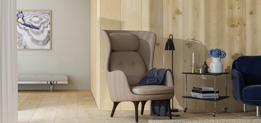 Ro Easy Chair by Jaime Hayon | Image courtesy of Fritz Hansen