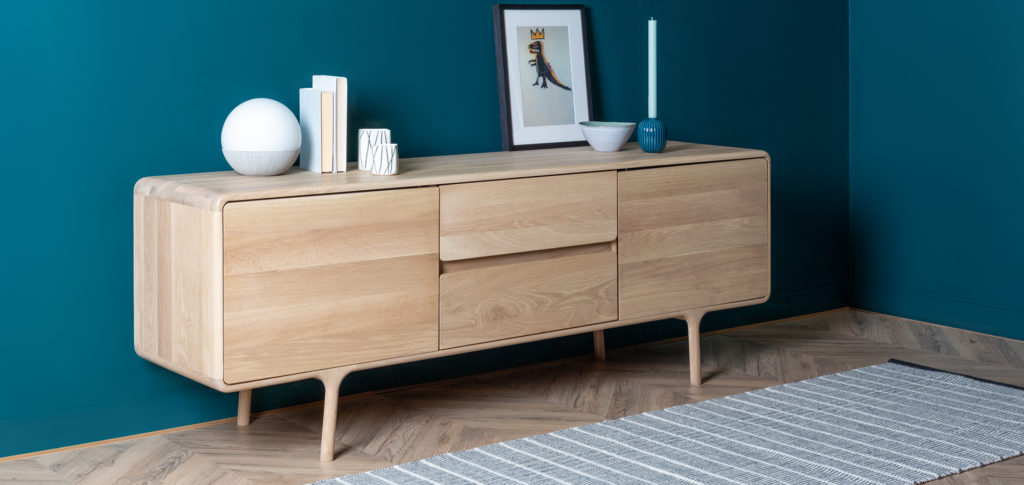 Runner by a sideboard