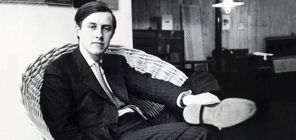 Sir Terence Conran at the start of his career