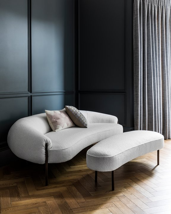 Isola sofa by Lucy Kurrein