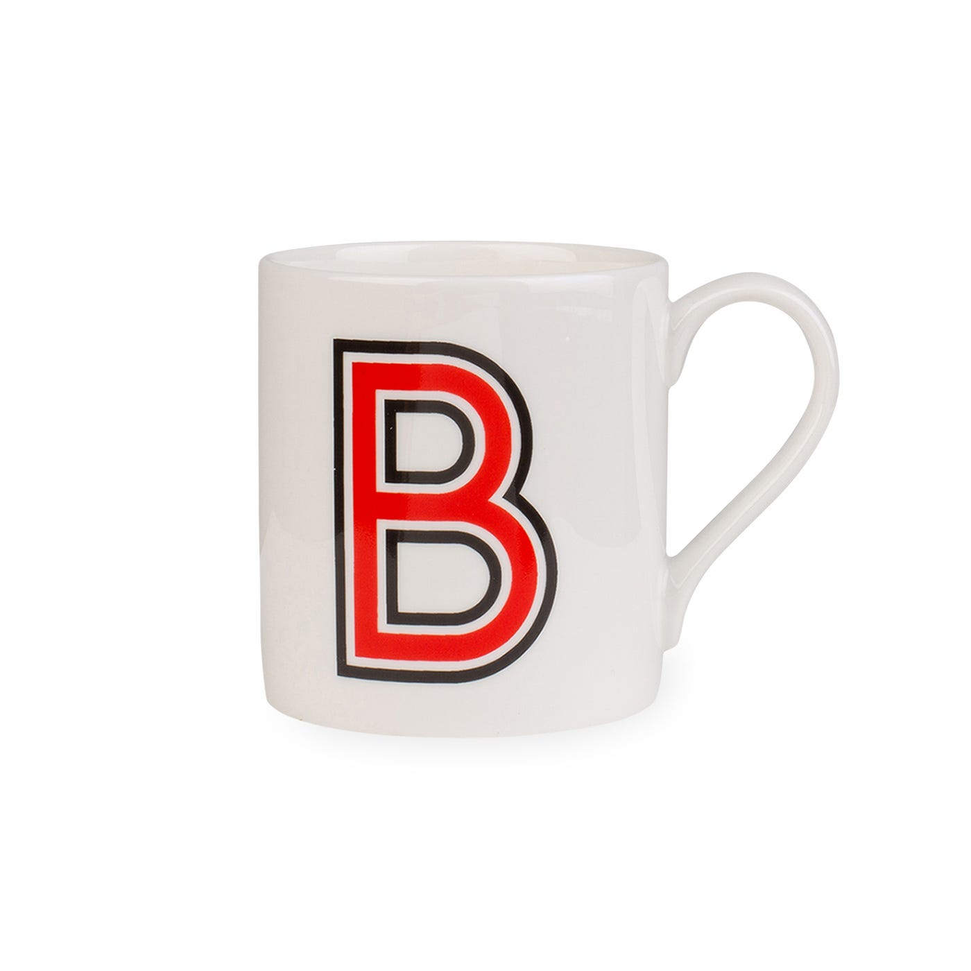 Heal's Heal's Heritage Alphabet Mug B