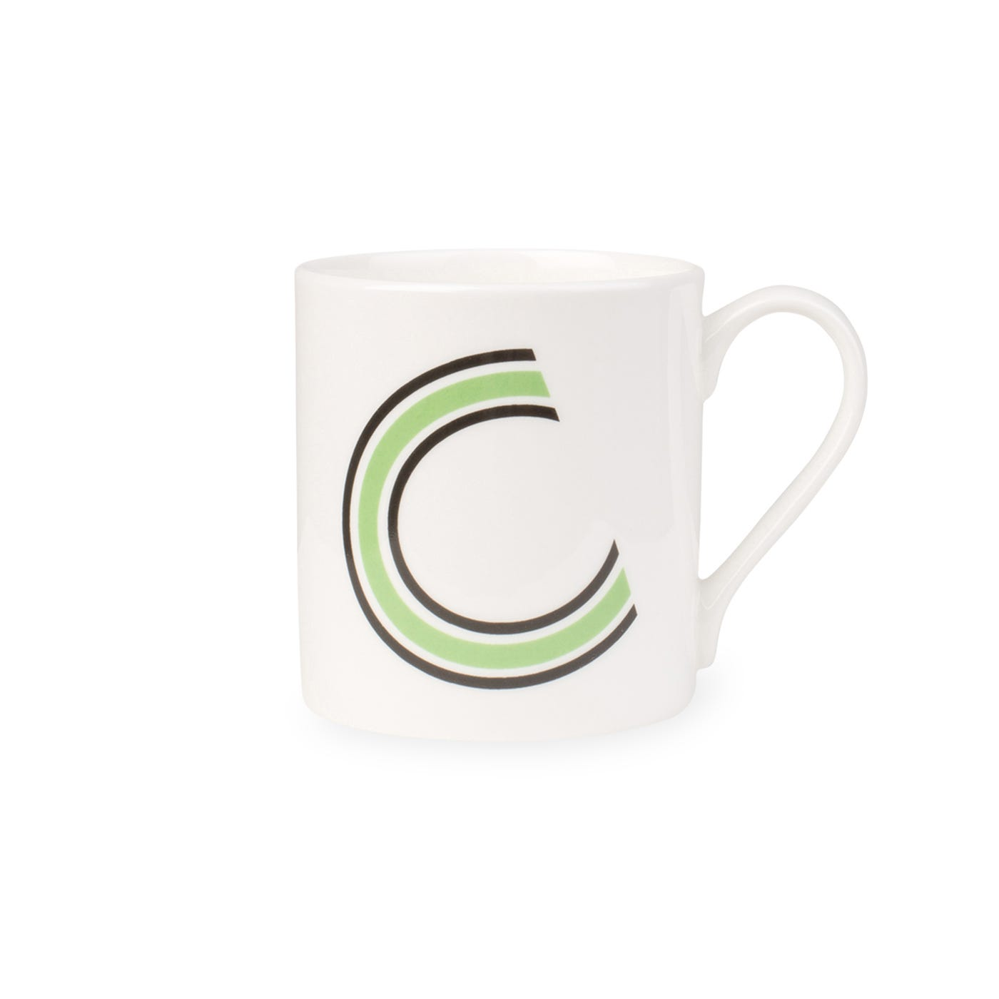 Heal's Heal's Heritage Alphabet Mug C