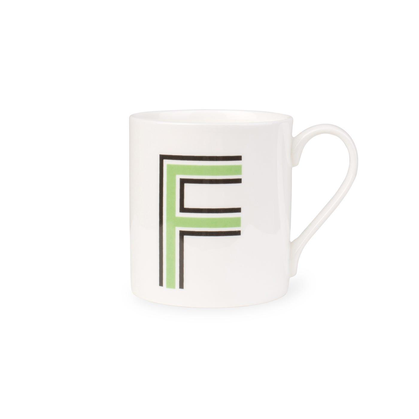 Heal's Heal's Heritage Alphabet Mug F