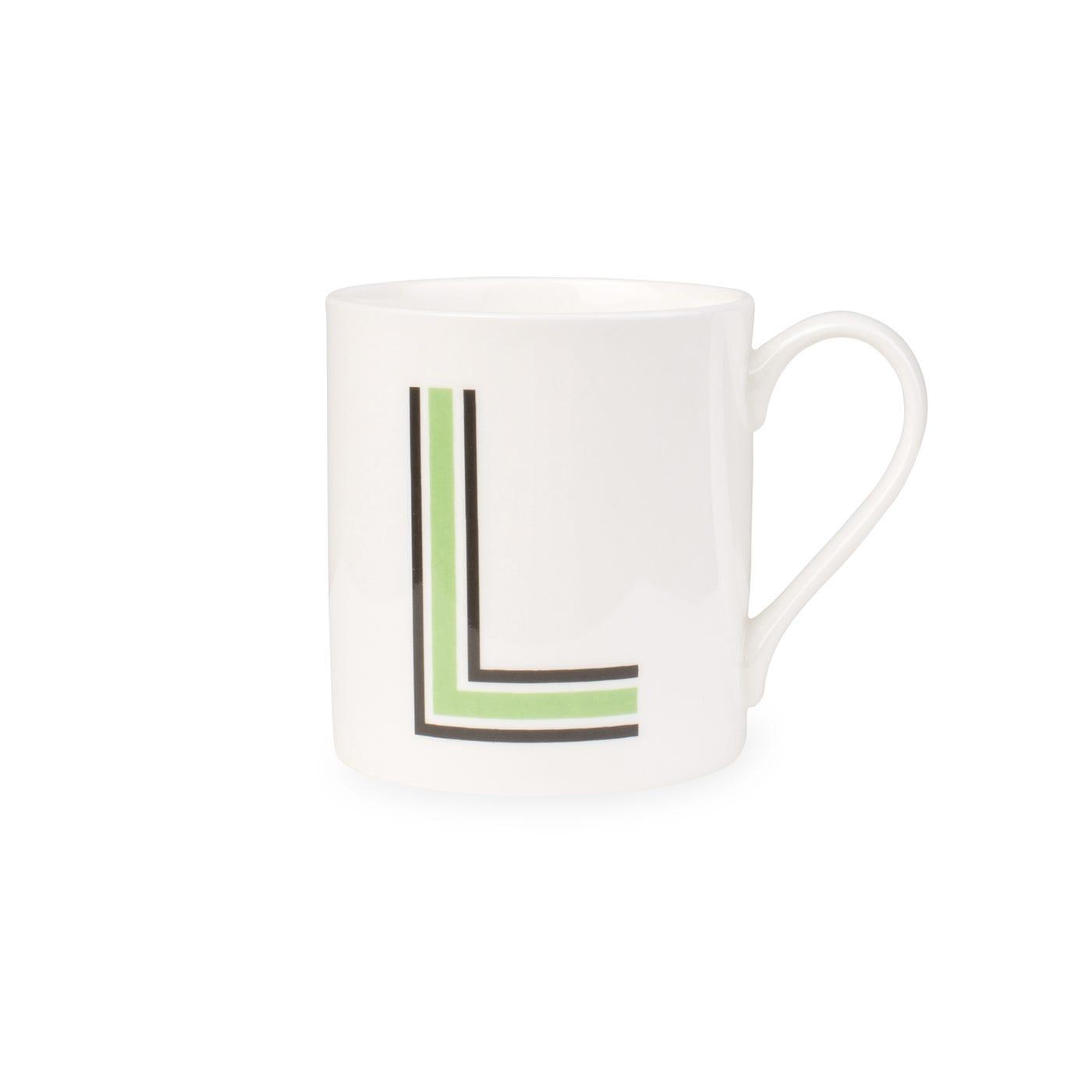 Heal's Heal's Heritage Alphabet Mug L