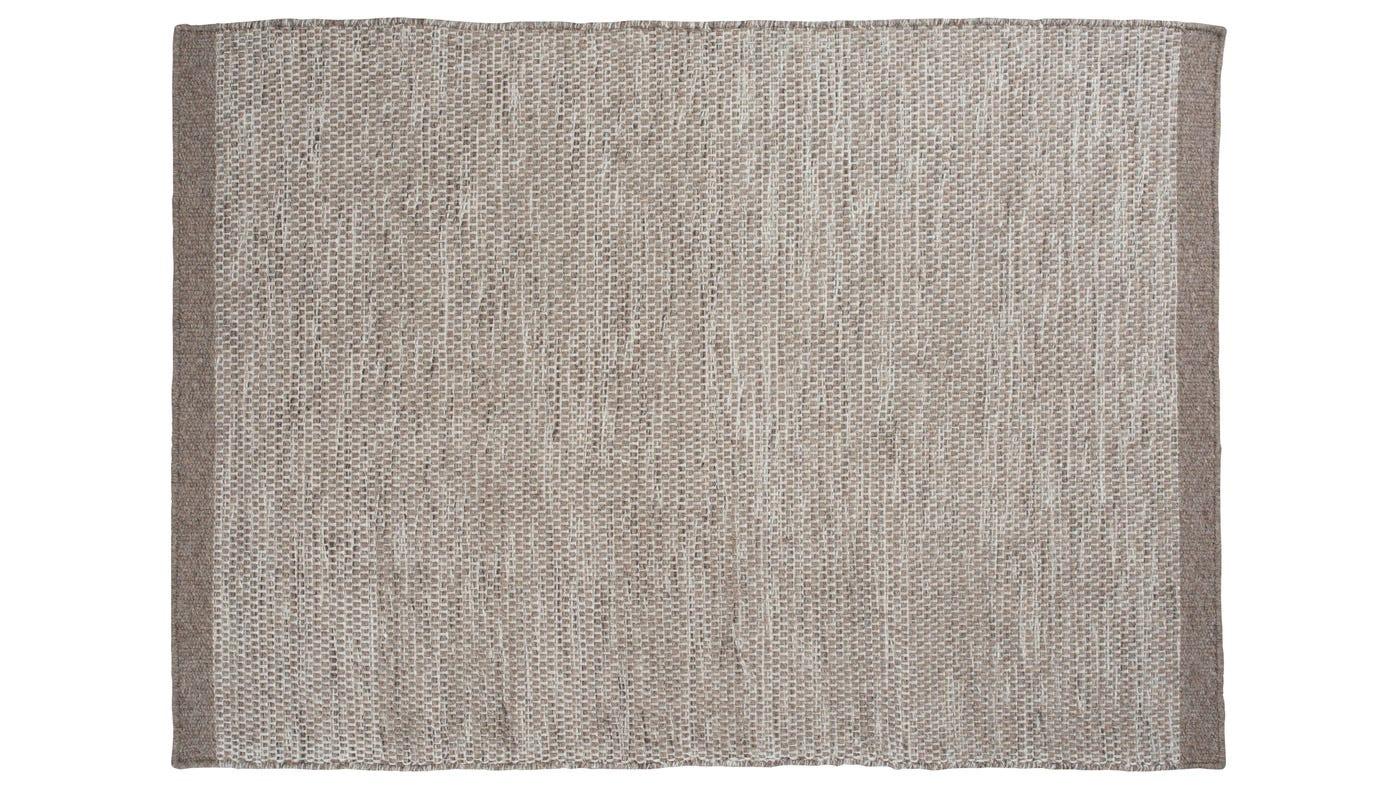Linie Design Asko Rug 140 x 200cm Light Grey & Natural