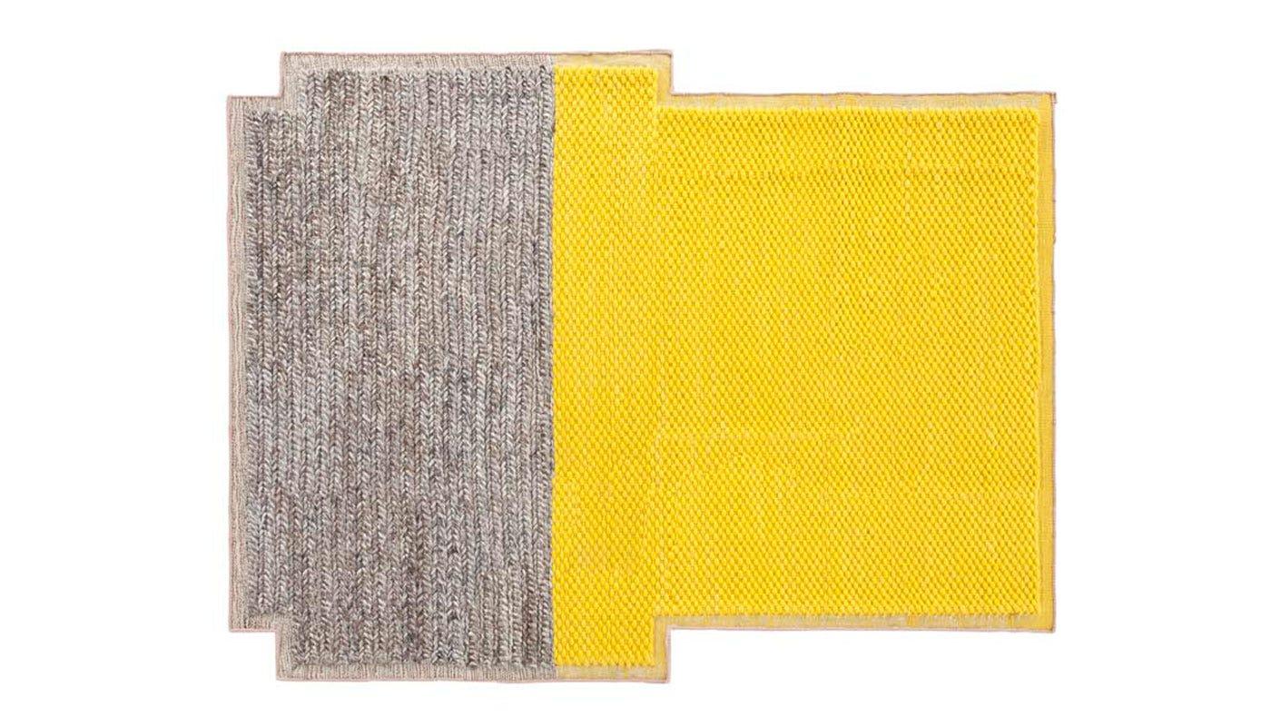 Gandia Blasco Mangas Plait Rug 190 x 250cm Yellow