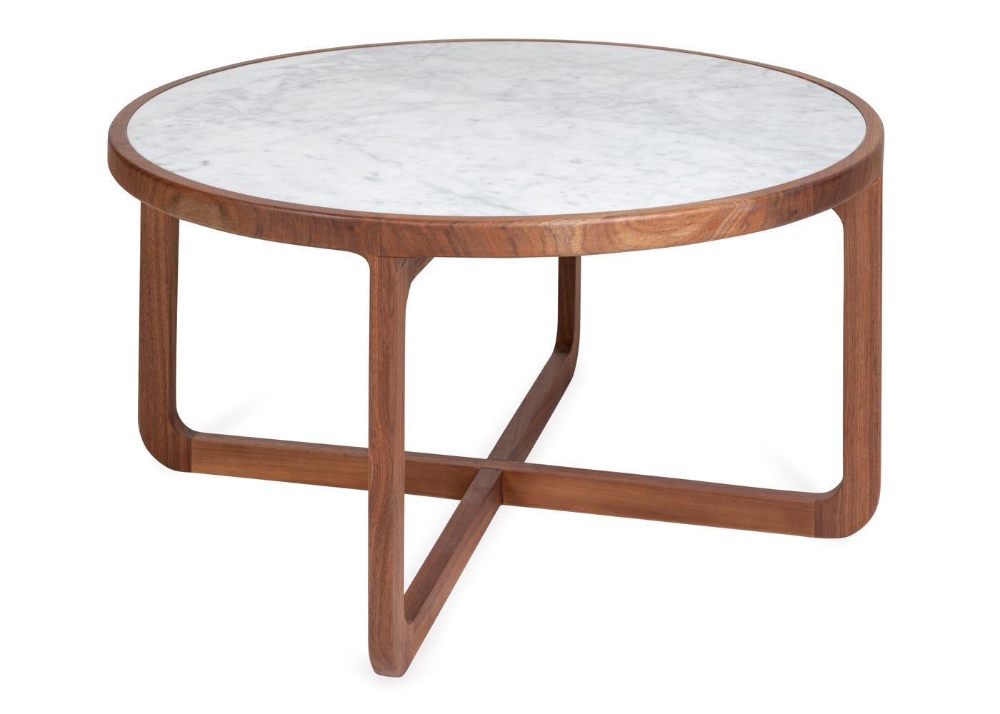 Heal's Anais Coffee Table White Marble