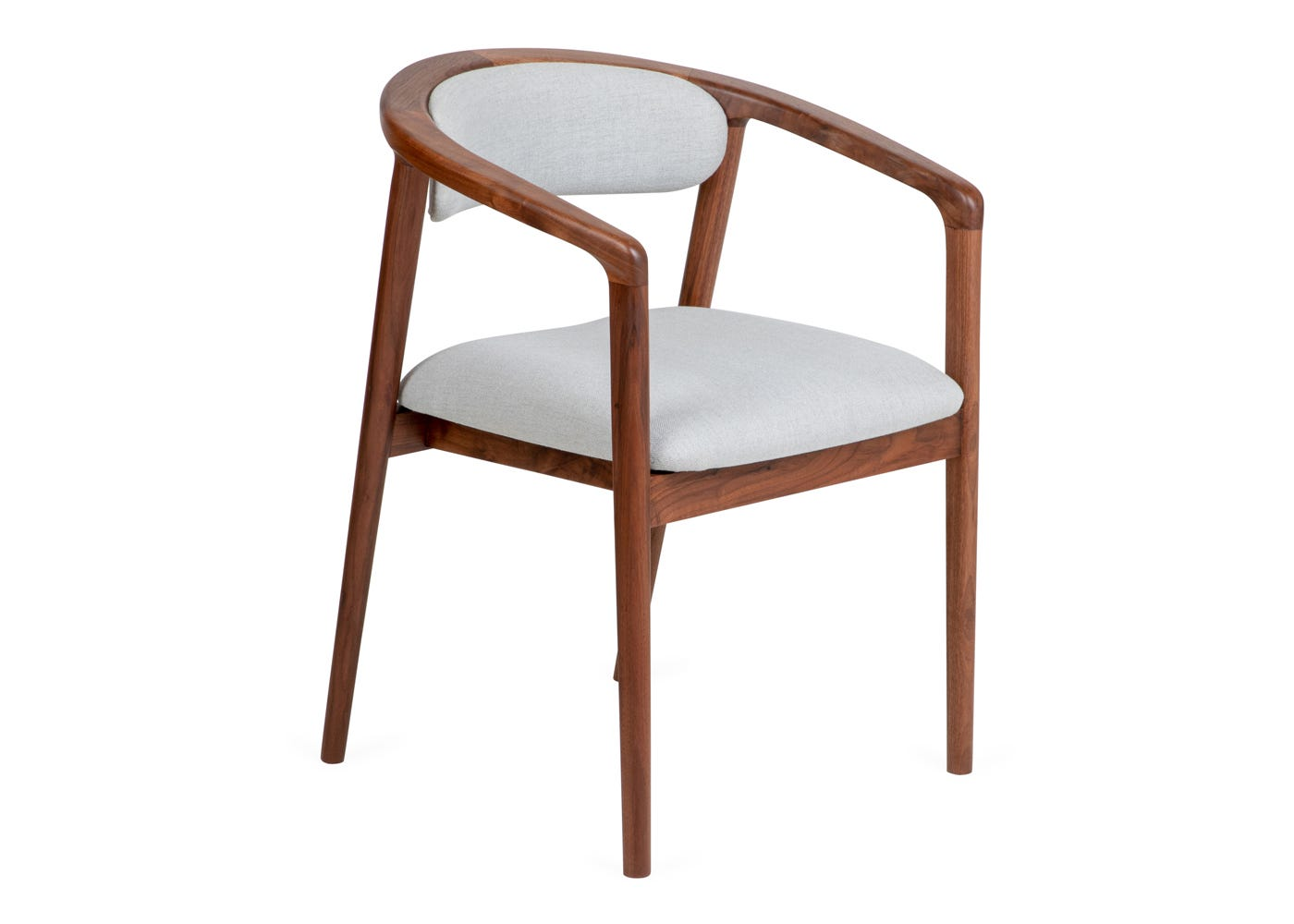 Fritz Hansen Swan Chair Grace Walnut Leather