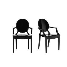 Kartell Louis Ghost Armchair Smoke Grey - Minimum of 2 only