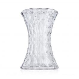 Kartell Stone Stool Crystal W30 X H45 cm