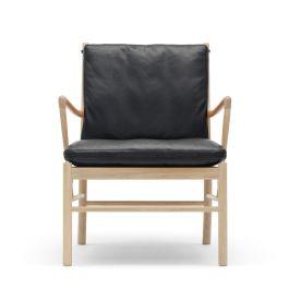 Carl Hansen & Søn OW149 Colonial armchair Walnut Oil / Leather Thor 301