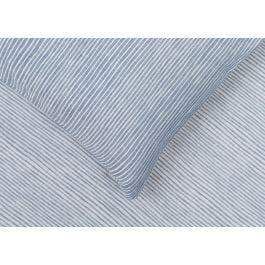 Heal's Reversible Stripe Duvet Cover Blue Super King