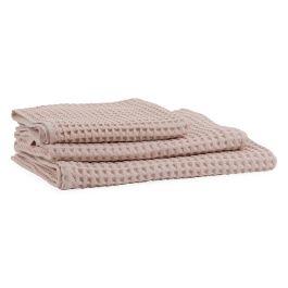 Heal's Putty Pink Waffle Hand Towel 50 x 100cm