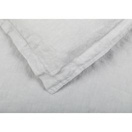 Heal's Washed Linen Grey Oxford Pillowcase