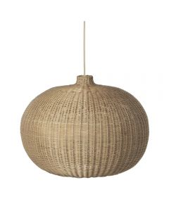 Braided Pendant Light Belly Natural