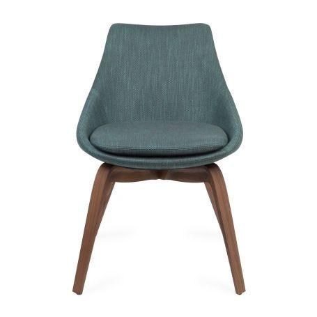 Penelope Chair Walnut Dorian 27 - Front View