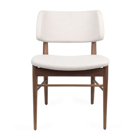 Nissa Chair Walnut Var. 1762/09 - Front View