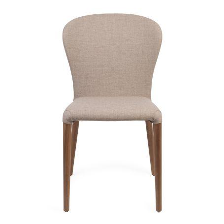 Astrid Chair Walnut Var. 02 - Front View
