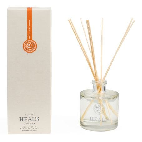 Amber & Pink Pepper Natural Reed Diffuser