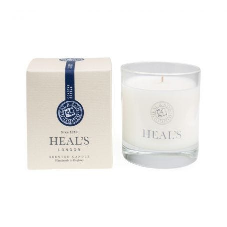 Coastal Breeze Scented Glass Candle