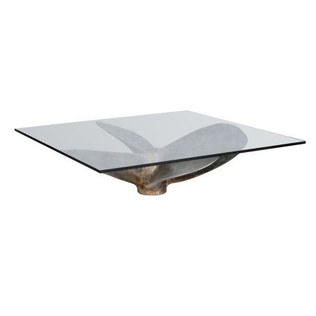 Junk Art Propeller Square Coffee Table