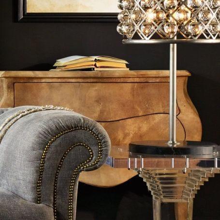 Zig Zag Small Table Lamp