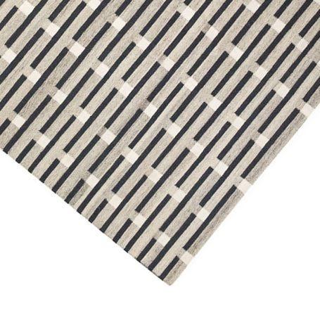 Purlin Tufted Rug Warm Grey