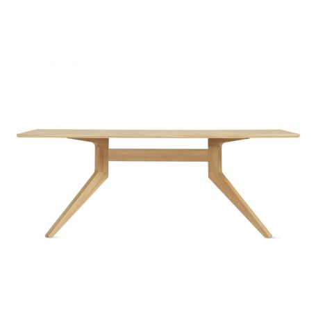 Cross Fixed Dining Table